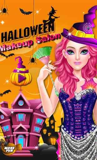 Halloween maquillage salon 1