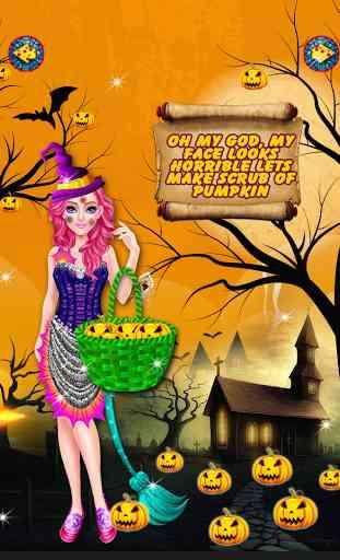 Halloween maquillage salon 2