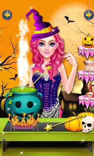 Halloween maquillage salon 3