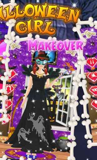 Halloween maquillage salon 4