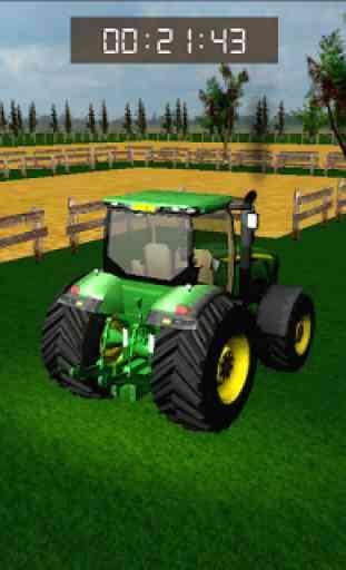 Tracteur Parking Mania: Fermes 2
