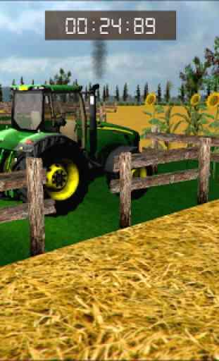 Tracteur Parking Mania: Fermes 3