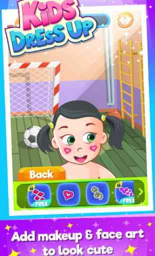 Doux bébé:Enfants habiller jeu 4