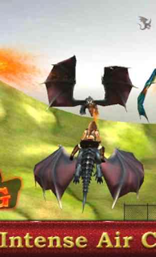 Dragon sim coureur guerrier 1