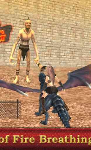 Dragon sim coureur guerrier 2
