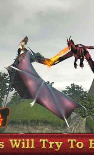 Dragon sim coureur guerrier 3