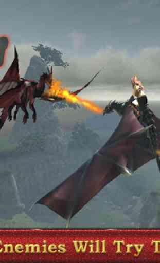 Dragon sim coureur guerrier 4