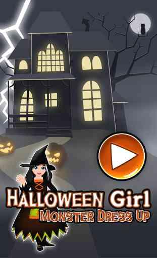 Halloween Monstre Dressup 4
