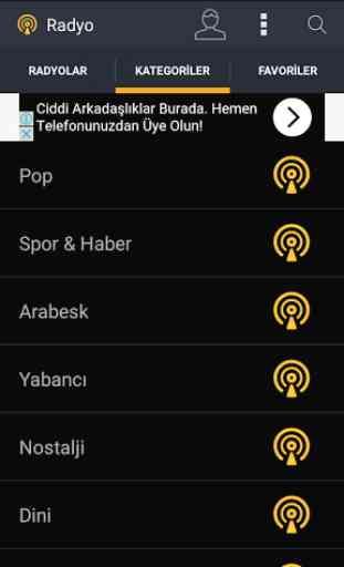 Canlı Radyo Dinle Fm 1