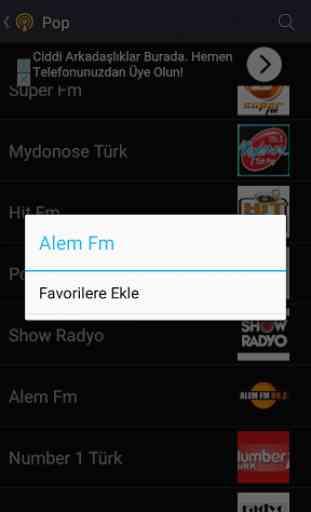 Canlı Radyo Dinle Fm 3