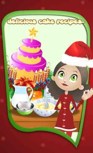 Christmas Cake Maker 3