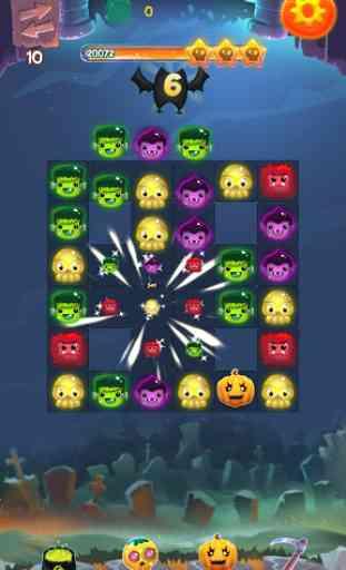 Halloween monstres II: Match 3 1