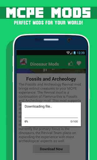 Mods Dinosaur Pour MCPE 3