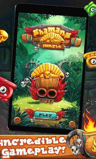 Bonbons trésor sorcière Jungle - Application Android