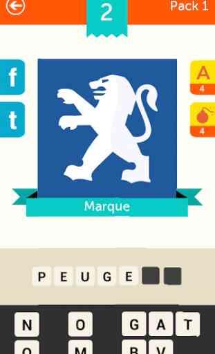 Iconica France ~ Pop Logo Quiz 2