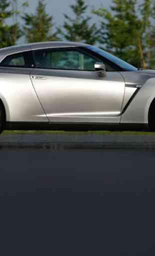 Puzzles Nissan GT R 4