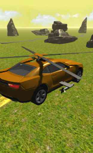 Flying Muscle Helicopter Car 2