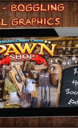 Pawn shop Free Hidden Objects 4