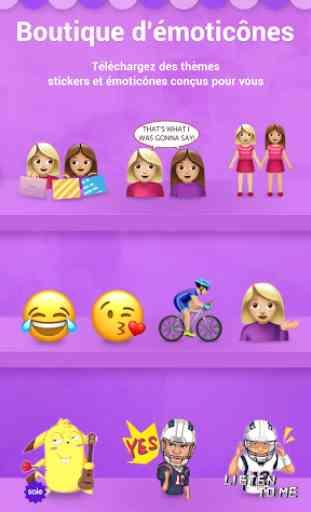 Facemoji Emoji Clavier + GIFs 4