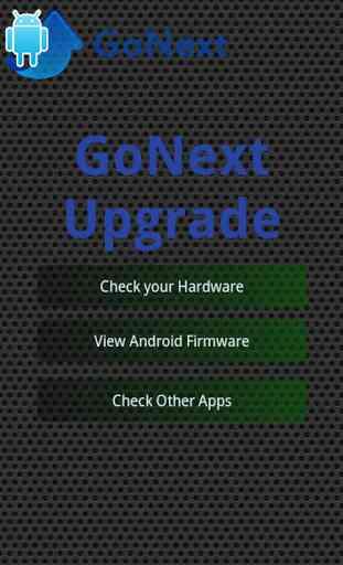 Mise à jour pour Android™ 1