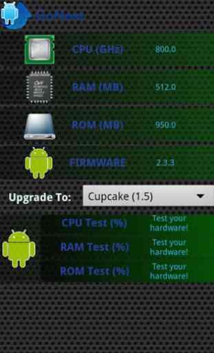 Mise à jour pour Android™ 4