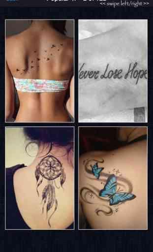 Dessins de Tatouage d'Artistes - Tattoo Designs! 2