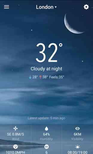 météo gratuite à 7 4