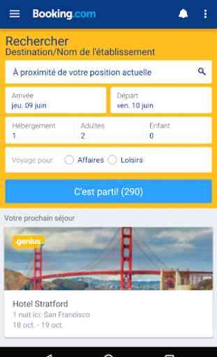 Booking.com Réservez un Hôtel 1