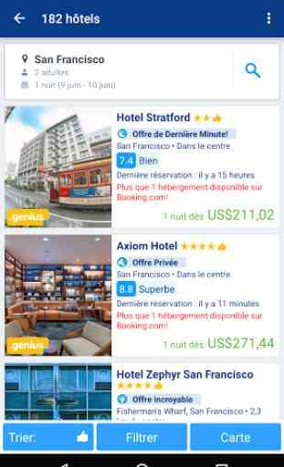 Booking.com Réservez un Hôtel 2