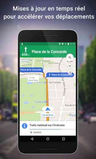 Maps: GPS & Transports Publics 1