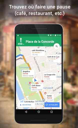 Maps: GPS & Transports Publics 3
