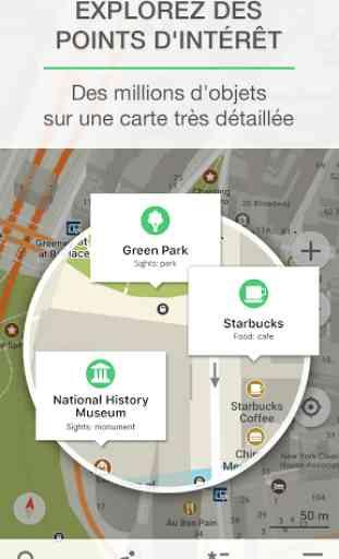 MAPS.ME Cartes avec navigation 2