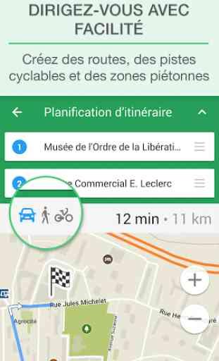 MAPS.ME Cartes avec navigation 3