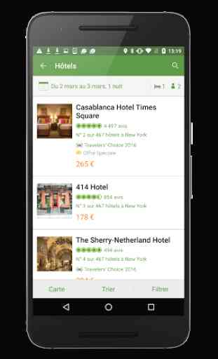 TripAdvisor hôtels restaurants 2