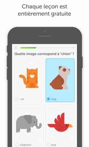 Duolingo : cours d'anglais, espagnol, allemand 2