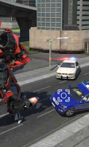 Futuristic Battle Robot 2