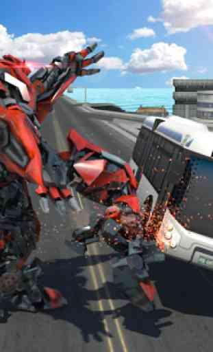 Futuristic Battle Robot 4