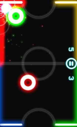 Glow Hockey 4