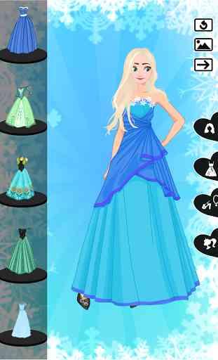 ❄ Icy dressup ❄ Frozen land 1