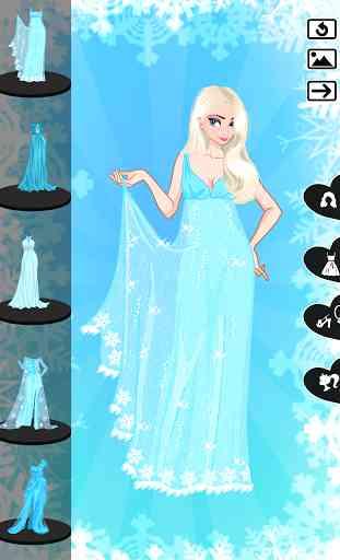 ❄ Icy dressup ❄ Frozen land 3