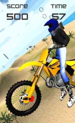Motocross Beach Jumping 3D 2
