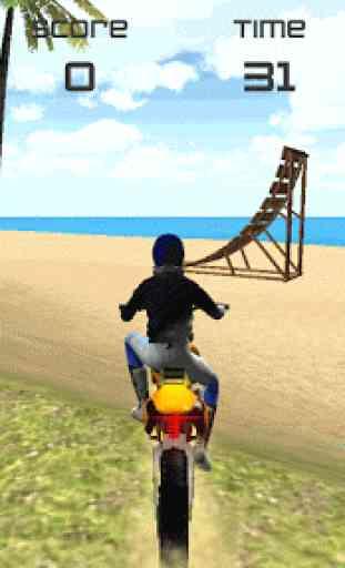 Motocross Beach Jumping 3D 3