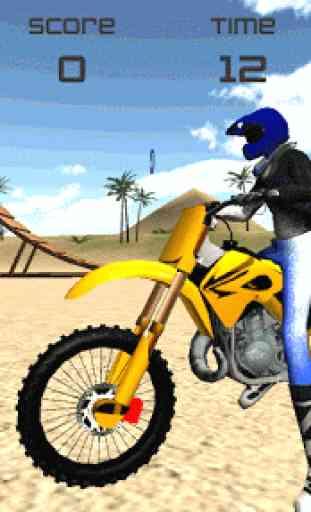 Motocross Beach Jumping 3D 4