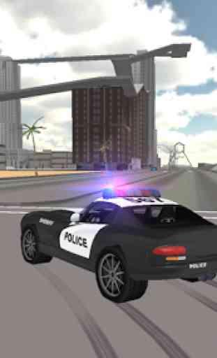 Conduite voiture police 1