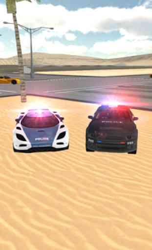 Conduite voiture police 3