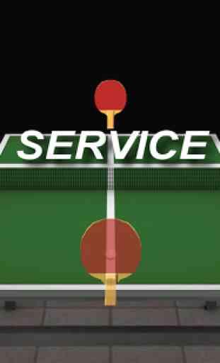 Virtual Table Tennis 3D 3