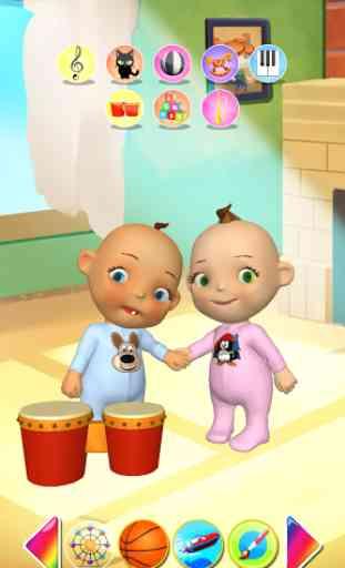 Bébé, Jumeaux, Nouveau-né 1