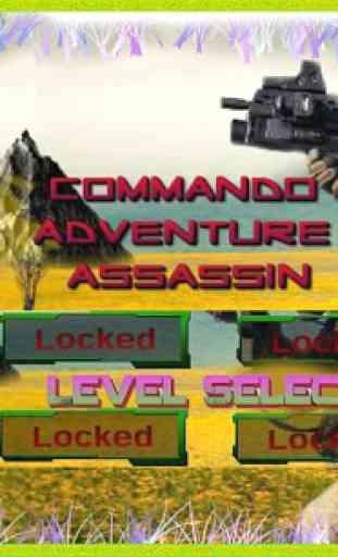 Commando Aventure Assassin 3D 1
