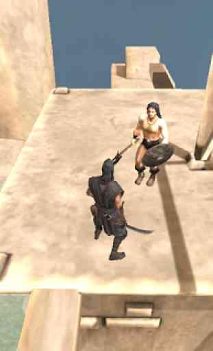 Ninja Samurai Assasin Hero 1
