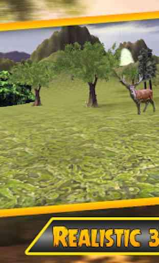 Sniper chasse au chevreuil 3D 2
